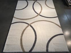 Super Soft Silky Feel Microfiber Contemporary Rug 6X8