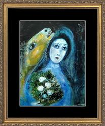 Collectible Vintage Marc Chagall Plate Circa 1968