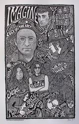 Ben G. Hand Signed 'John Lennon'