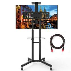 Universal TV Cart Portable Stand Up to 60-Inch TV
