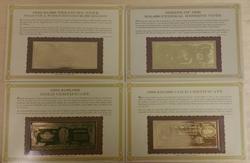 The Danbury Mint U.S. Treasury Notes 9pc