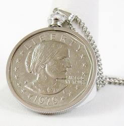 1979 Susan B. Anthony One Dollar Coin Pendant