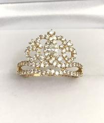 14kt Yellow Gold Crown Ring