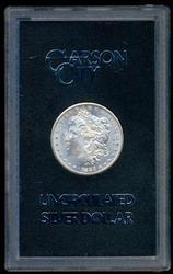 Choice BU 1883-CC Morgan Silver Dollar in GSA pack