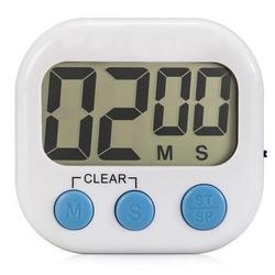 Large LCD Kitchen Timer Magnetic Back
