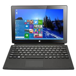 10.1-inch Windows 10 Tablet PC w/ Keyboard Quad-core