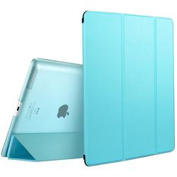 iPad 2 3 4 Transparent Trifold Case Stand