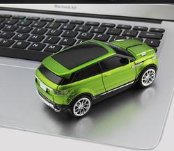 3D Wireless Gaming Mouse Sports Car