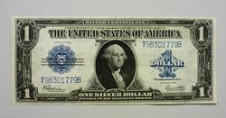 1923 Crisp Uncirculated  One Dollar Silver Certificate!