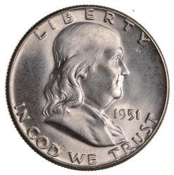 1951 Franklin Half Dollar - Not Circulated
