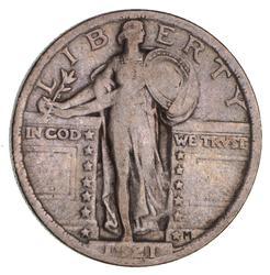 1921 Standing Liberty Quarter- Circulated