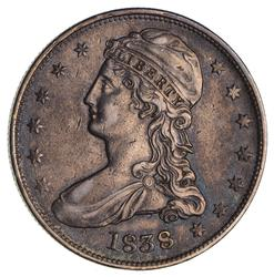 1838 Capped Bust Half Dollar- Circulated