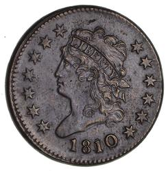 1810/09 Classic Head Large Cent- Circulated