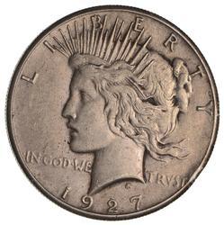 1927 Peace Silver Dollar- Circulated