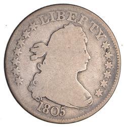 1805 Draped Bust Quarter- Circulated
