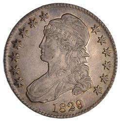 1829 Capped Bust Half Dollar- Near Uncirculated