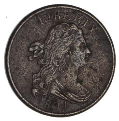 1804 Draped Bust Half Cent- Circulated