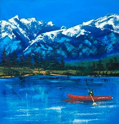 Amazing Oil on Canvas Landscape