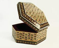 Amazing Very Detailed Persian Craft Jewelry Box