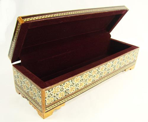 Amazing Very Detailed Persian Craft Jewelry Box usauctiononlinecom