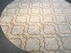 Exquisite Modern Moroccan Style Texture 8 Round Rug