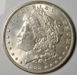 1888 Brilliant Uncirculated Morgan $