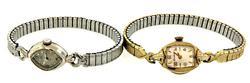 Set of 2 Ladies Vintage Bulova Watches