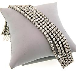 Pure Luxury: 20 CTW Diamond Tennis Bracelet in 18K