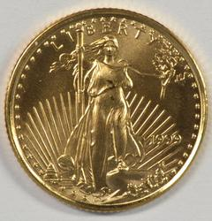 Great-looking Gem BU 1999 $5 American Gold Eagle