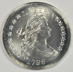 Awesome Exact COPY of a 1796 Draped Bust Half Dollar