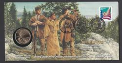 Sacagawea Official Comm Coin Cover $1 2000