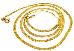 14kt Yellow Gold Chain Necklace