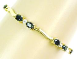 Sterling Vermeil Blue Sapphire Bracelet