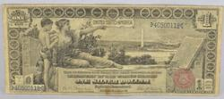 Popular $1 Series of 1899 Educational Silver Certificate