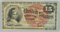 15 Cent Fractional Currency Near Uncirculated Fr 1271