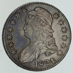 1824 Capped Bust Half Dollar - Various Dates - Circulated