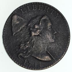 1794 Liberty Cap Large Cent - Circulated