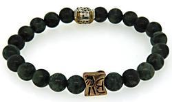 Gemstone Bangle Bracelet