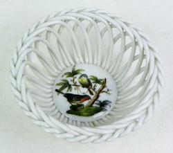 Herend Rothschild Basketweave Bowl