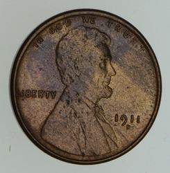 1911-S Lincoln Wheat Cent - Not Circulated