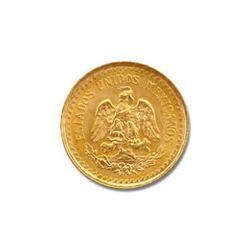 Mexico 2.5 Pesos Gold Coin 0.0603 troy ounces of gold