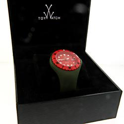 Toy Watch Jelly in Green & Red