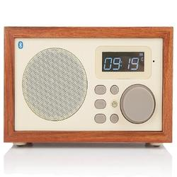Wooden Multi-Functional Speaker w/ Bluetooth FM & Alarm