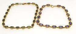 Set of Vintage Bracelets, 14k