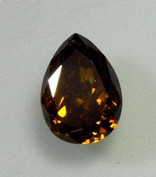 Warm & Alluring Natural Brown Diamond - 0.55 ct.