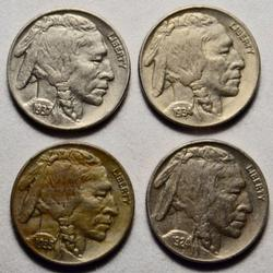 4 Near Unc Buffaloes 1924 1935 1936 and 1937