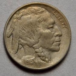 1913 Type 2 Uncirculated Buffalo Nickel