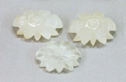 Natural Carved Moonstone - Lot of 3