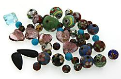 Assorted Medium Size Loose Stones & Beads