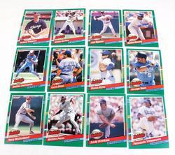 12 Leaf 1990 Highlight Baseball Cards